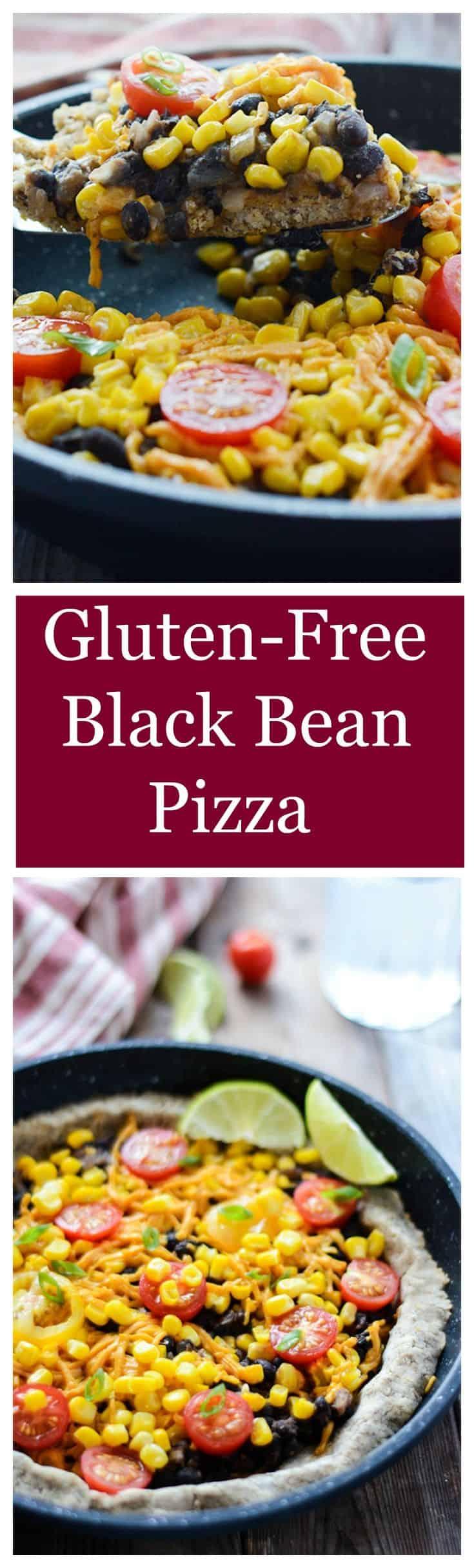 Gluten-Free Black Bean Pizza
