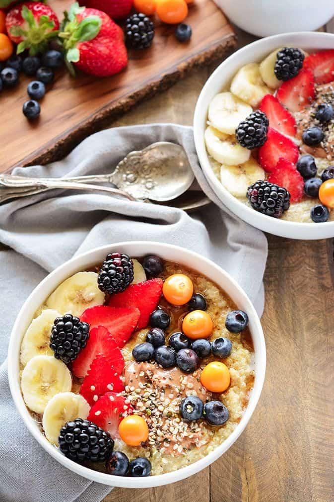 Breakfast Bowl Quinoa Bowl