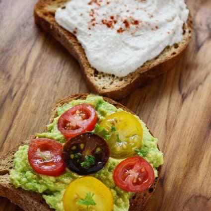 Avocado Toast with Hummus