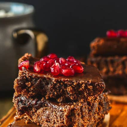 Gluten-Free Vegan Carob Brownies