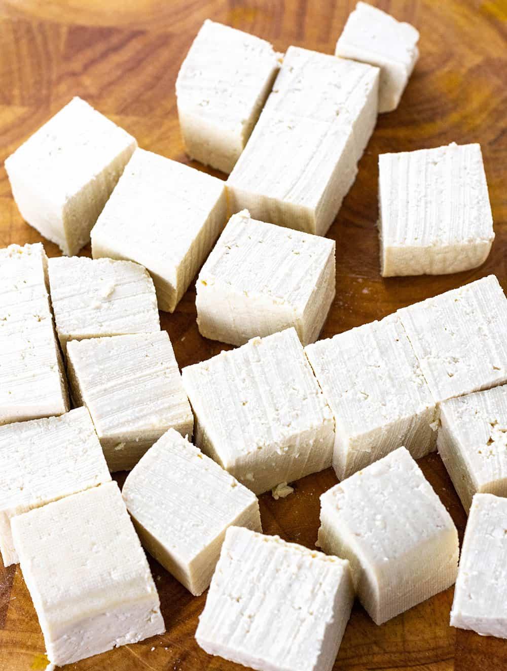 General Tso's Tofu Cubes