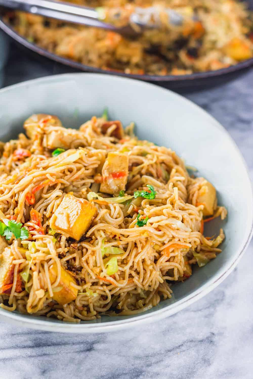 Watch Tofu and Peanut Stir-Fry with Ramen Noodles Recipe video