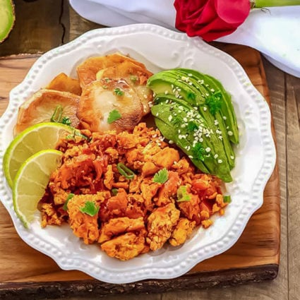 Scrambled Tofu Breakfast Recipe – Mexican Style