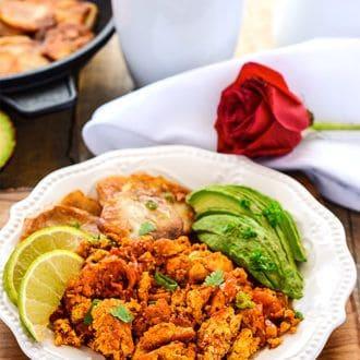 Scrambled Tofu - Mexican Style