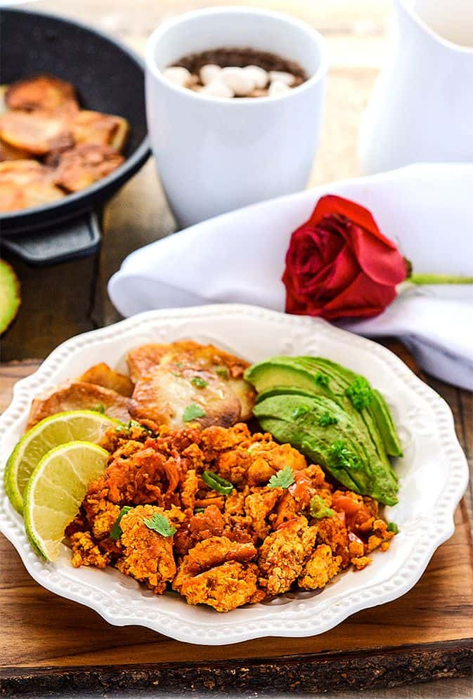 Scrambled Tofu - Mexican Style