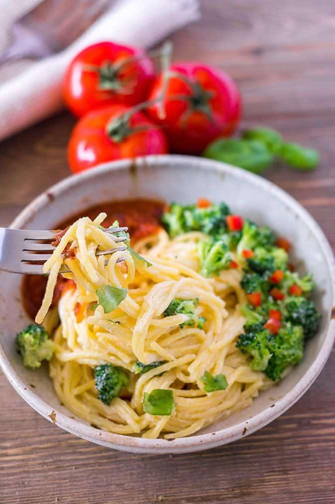 Spaghetti Broccoli