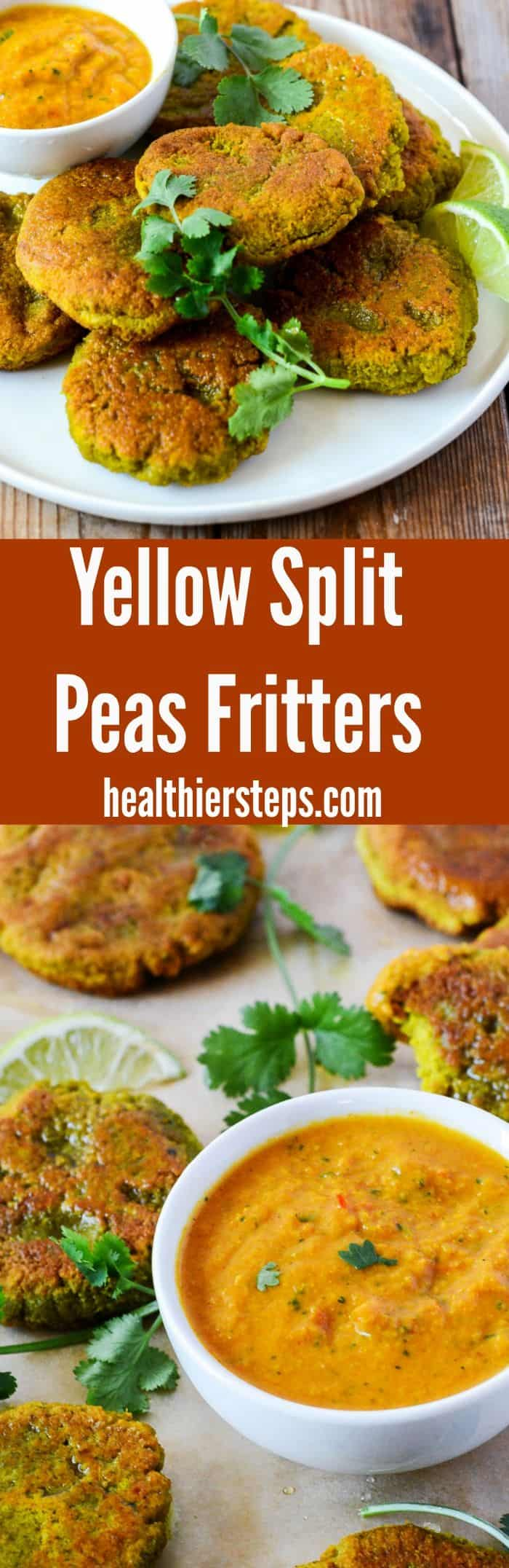 Yellow Split Peas Fritters