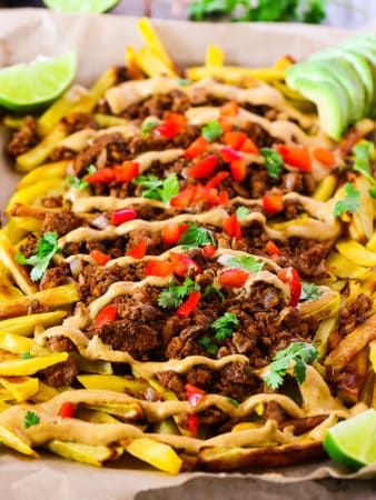 Loaded Taco Fries