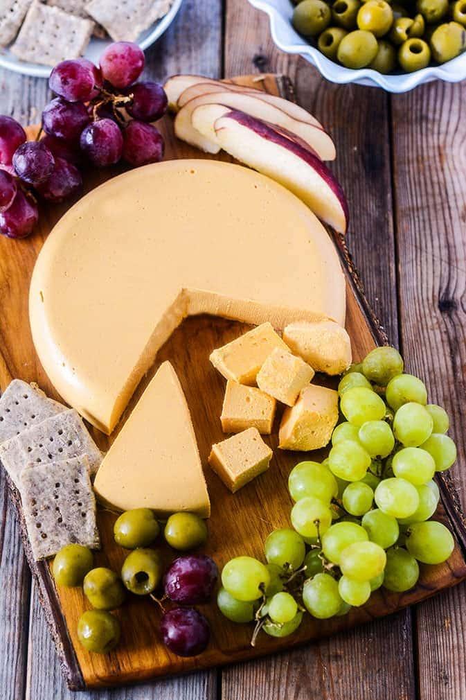 Vegan Cheddar Cheese