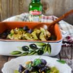 Roasted Sweet Potato, Jackfruit with Basil Pesto