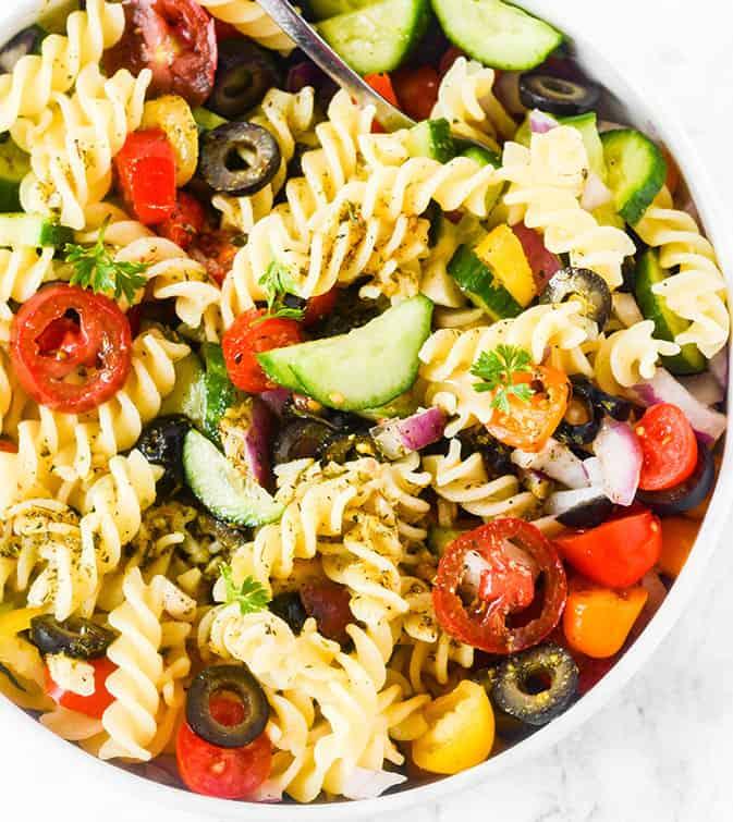 Vegan Italian Pasta Salad