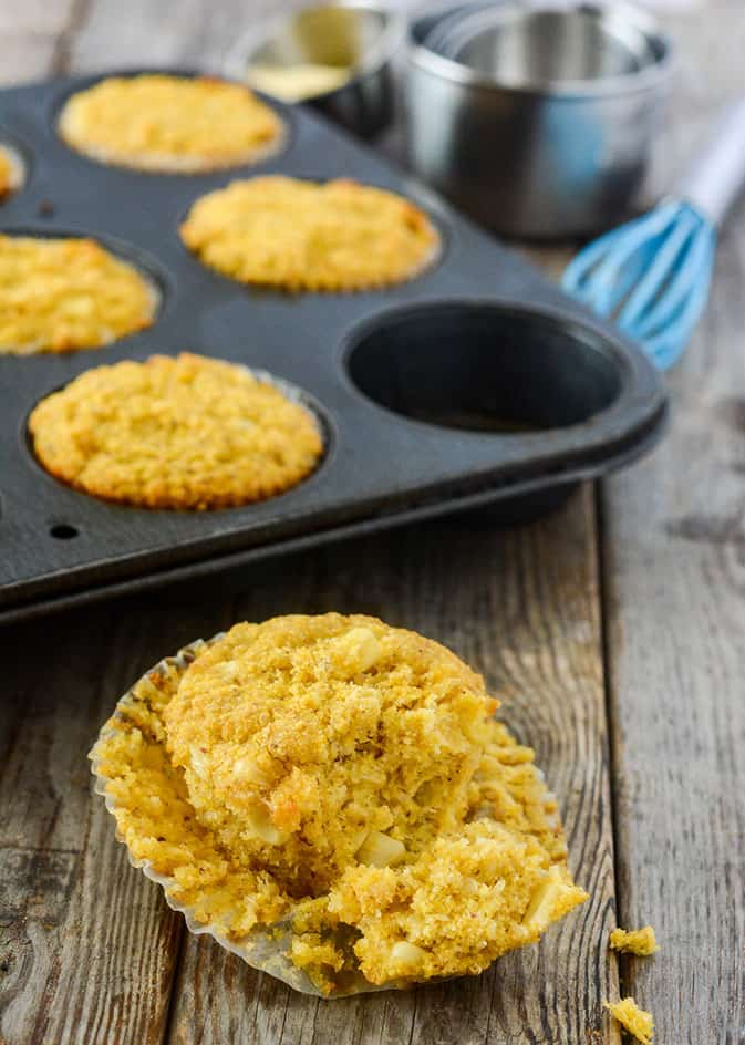 Corn Muffins (Vegan, Gluten-Free)