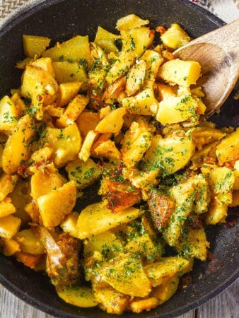 Vegan Skillet Breakfast Potatoes