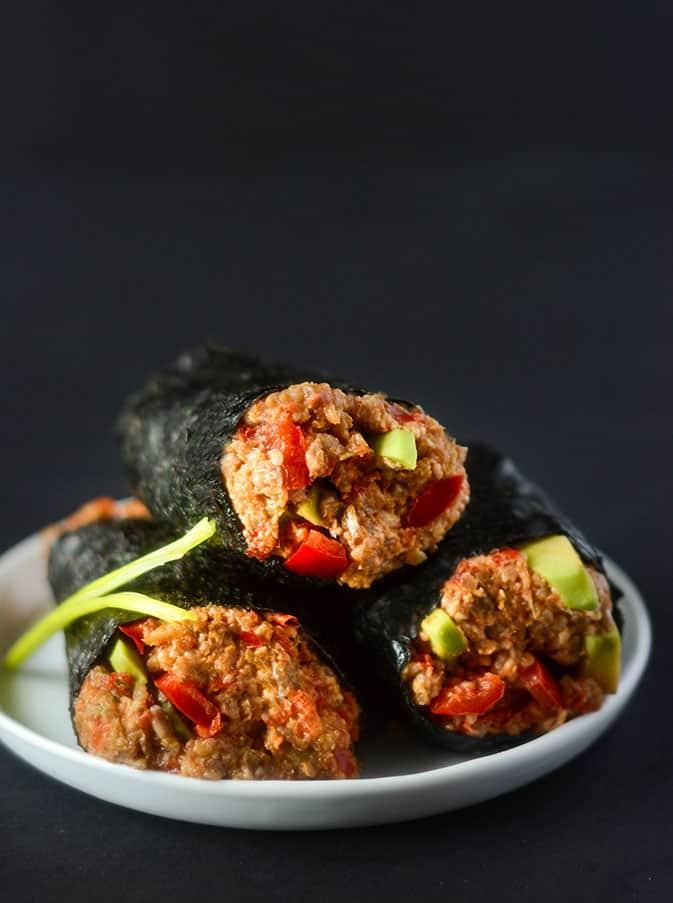 raw foods diet sushi