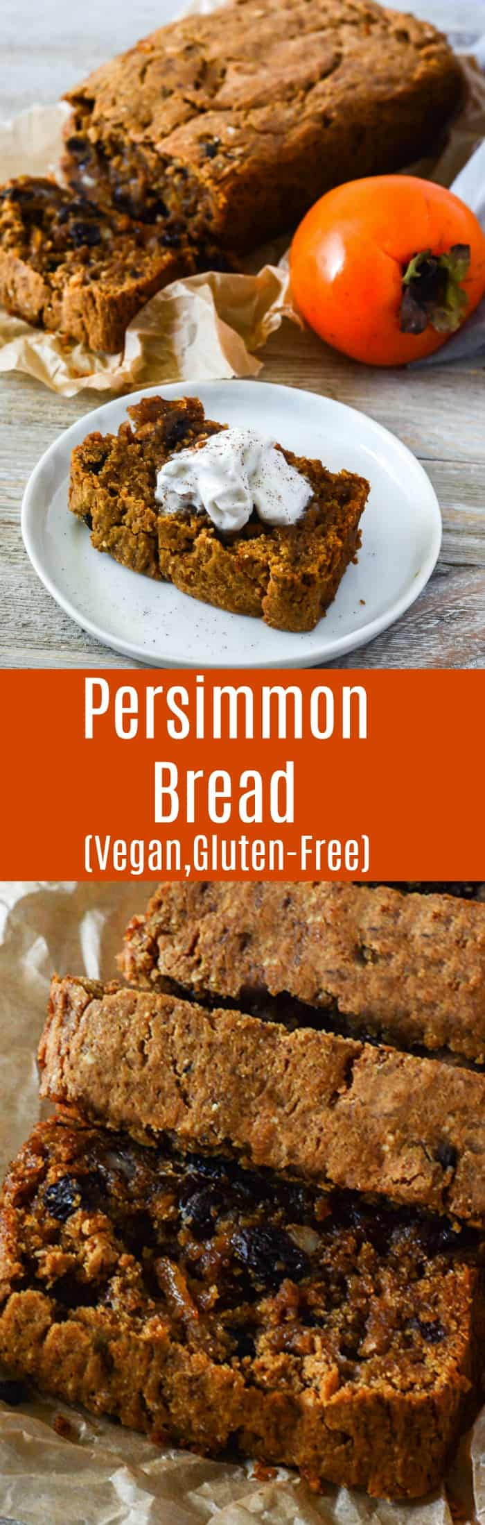 Vegan Persimmon Bread