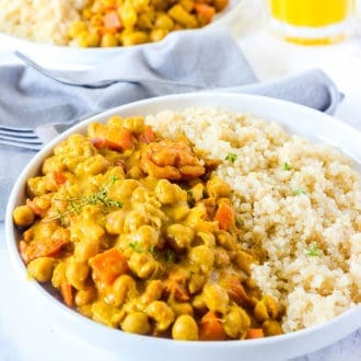 Chickpea Curry (Jamaican-Style)