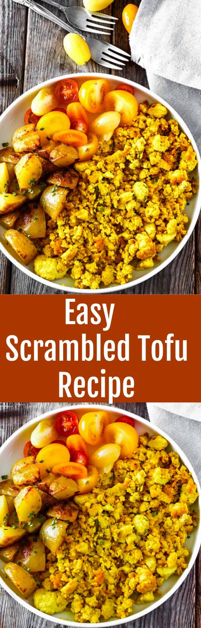 Easy Scrambled Tofu Recipe