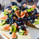 Almond Cake Recipe With Fresh Fruits