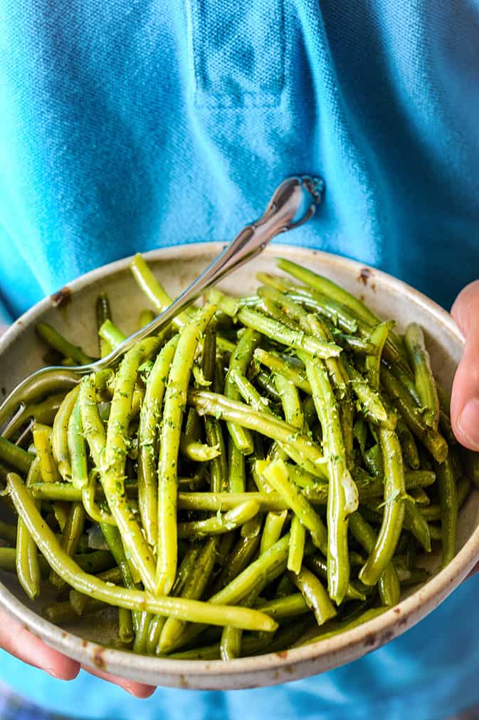 Easy green bean recipe healthier steps for Easy thanksgiving green bean recipes