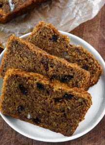 Vegan Persimmon Bread Recipe - Healthier Steps
