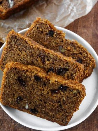 Vegan Persimmon Bread Recipe