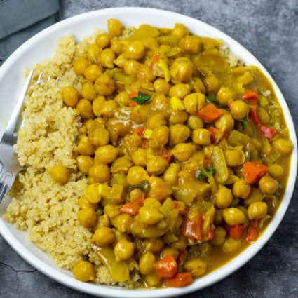 Jamaican-Style Chickpea Curry Recipe