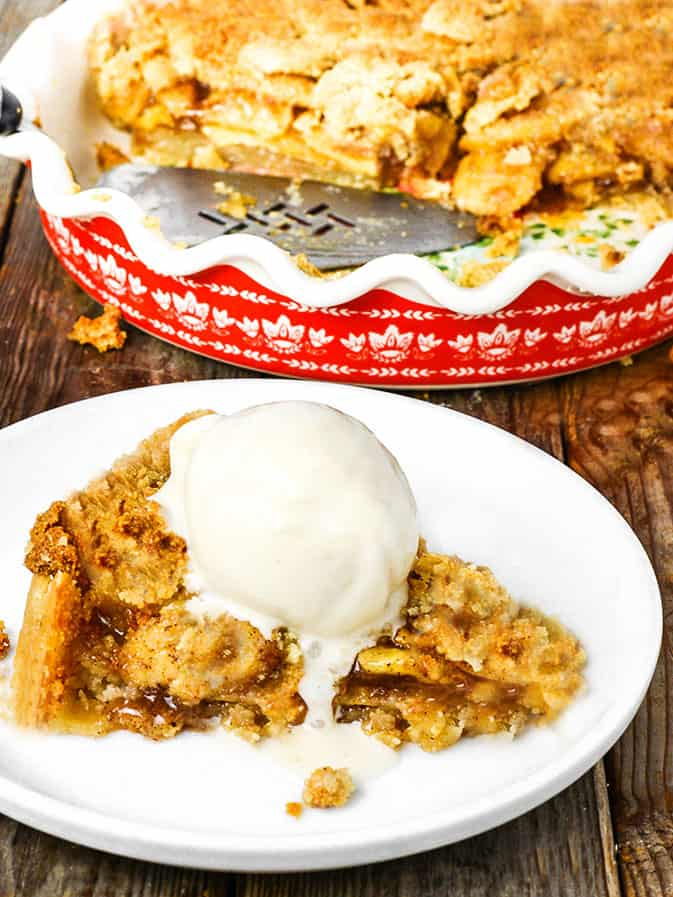 Apple Pie Crumble (Vegan, Gluten-Free)