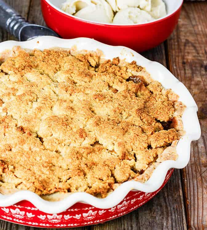 Apple Pie Crumble (Vegan, Gluten-Free)