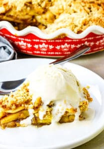 Apple Pie Crumb Topping (Vegan, Gluten-Free) - Healthier Steps