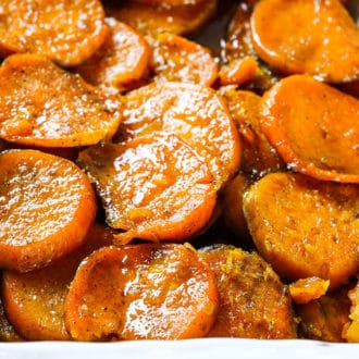 Vegan Baked Candied Yam