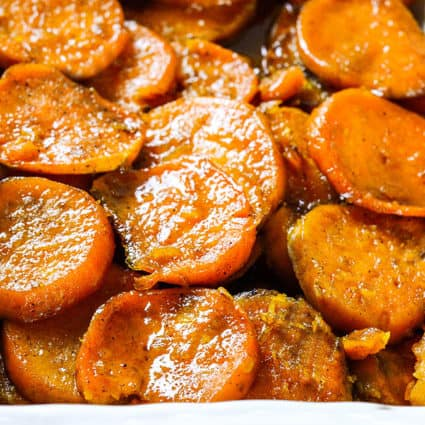 Vegan Baked Candied Yams