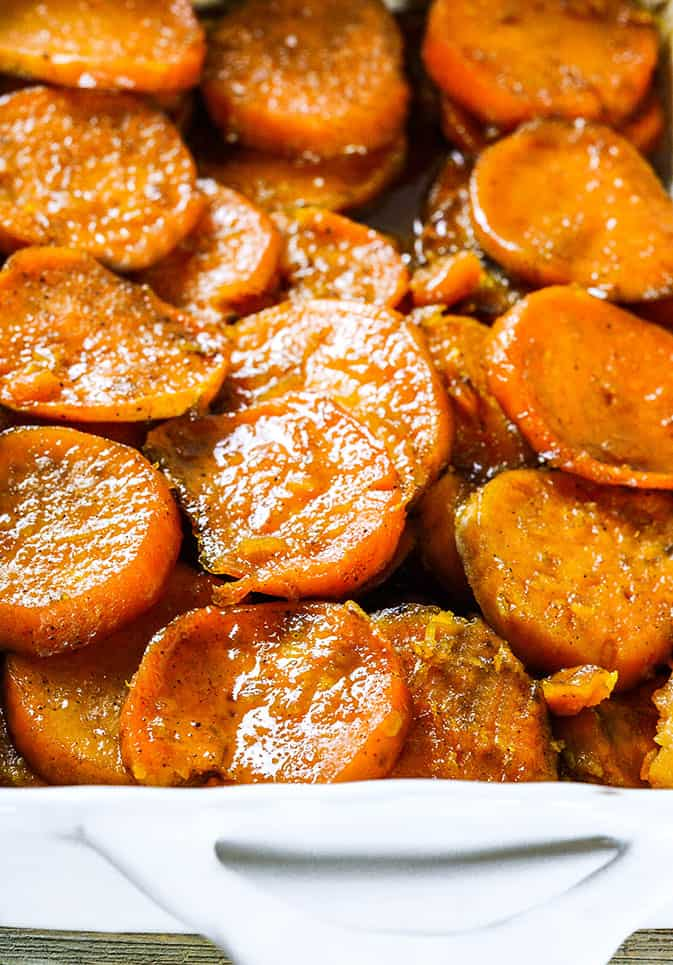 Vegan Baked Candied Yams Healthier Steps