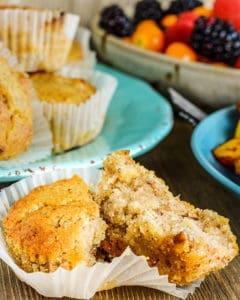 Hummingbird Muffins (Vegan, Gluten-Free) - Healthier Steps