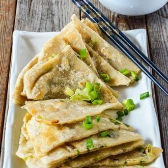 Chinese Scallion Pancakes (Gluten-Free)