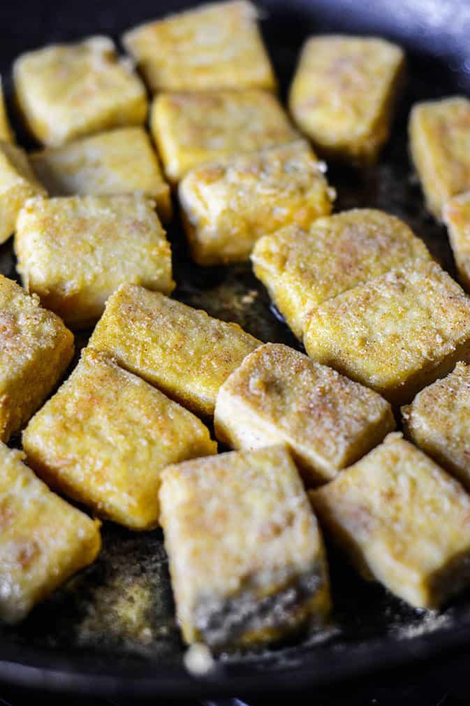 Smothered Tofu Chicken recipe