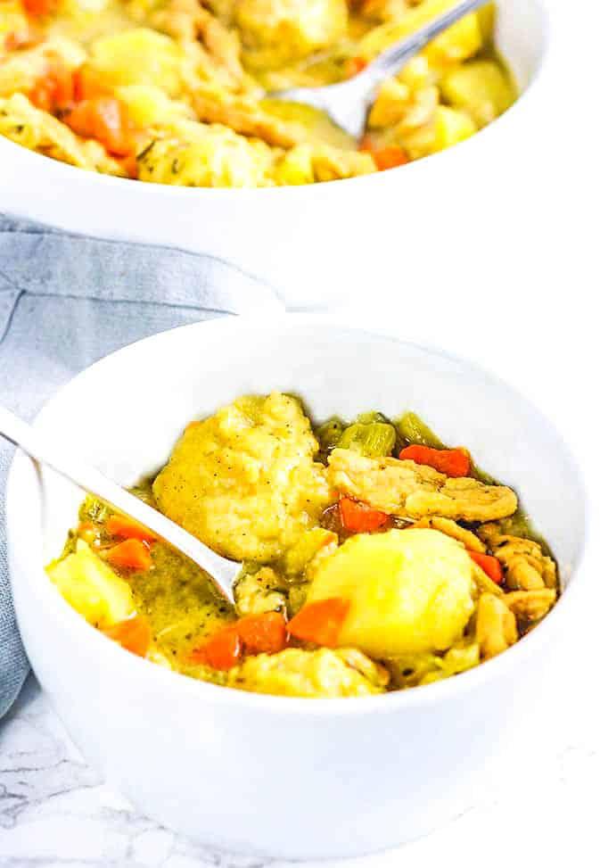 Vegan Chicken And Dumpling
