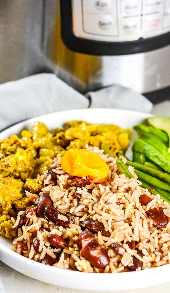 Instant Pot Jamaican Rice And Peas Recipe