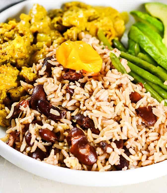 Instant Pot Jamaican Rice and Peas