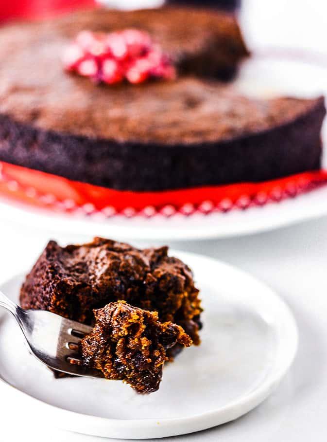 Jamaican Christmas Cake (Vegan, Gluten-Free)