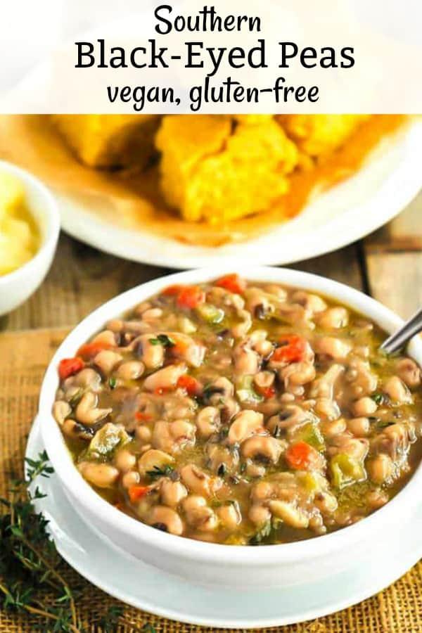 Southern Black-Eyed Peas Vegan