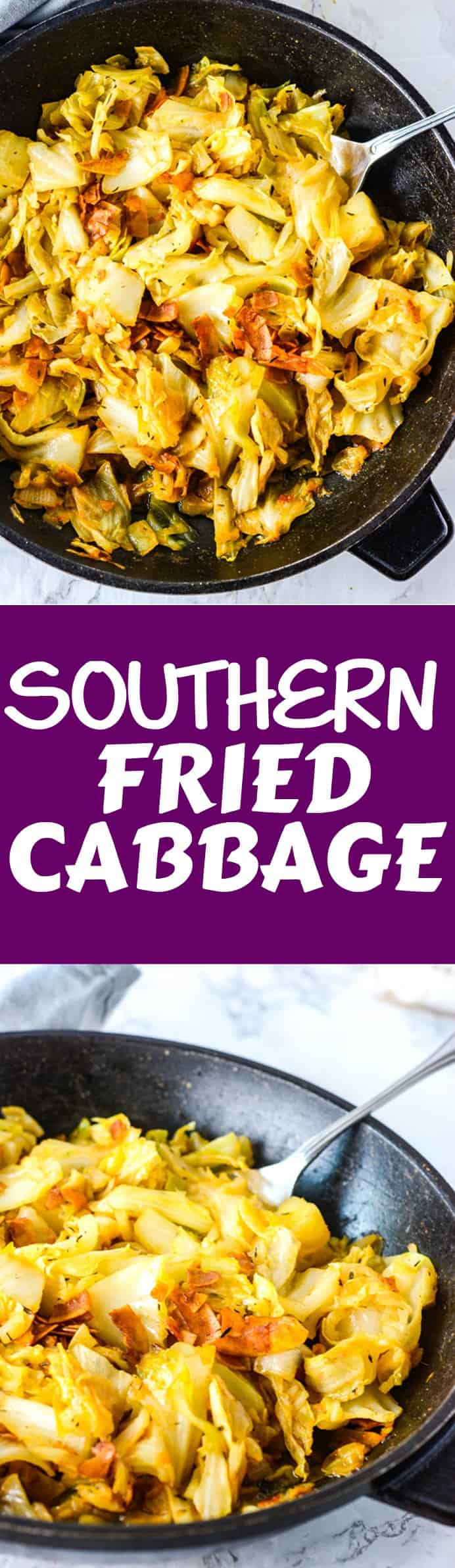 Vegan southern fried cabbage healthier steps notes southern fried cabbage share this recipe forumfinder Gallery