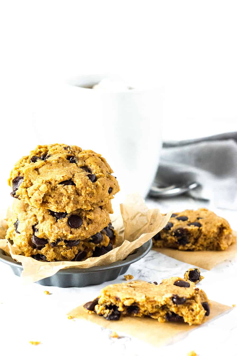 Vegan & Gluten-Free Chocolate Chip Cookies