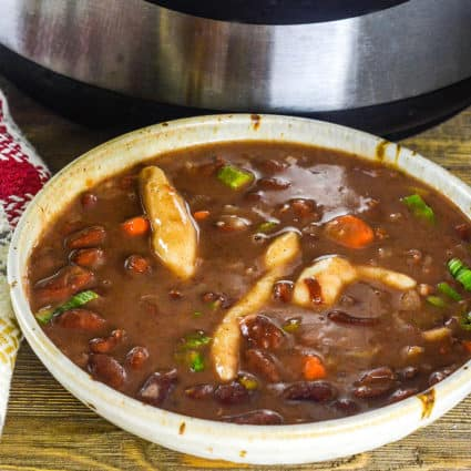 Instant Pot Jamaican Stew Peas