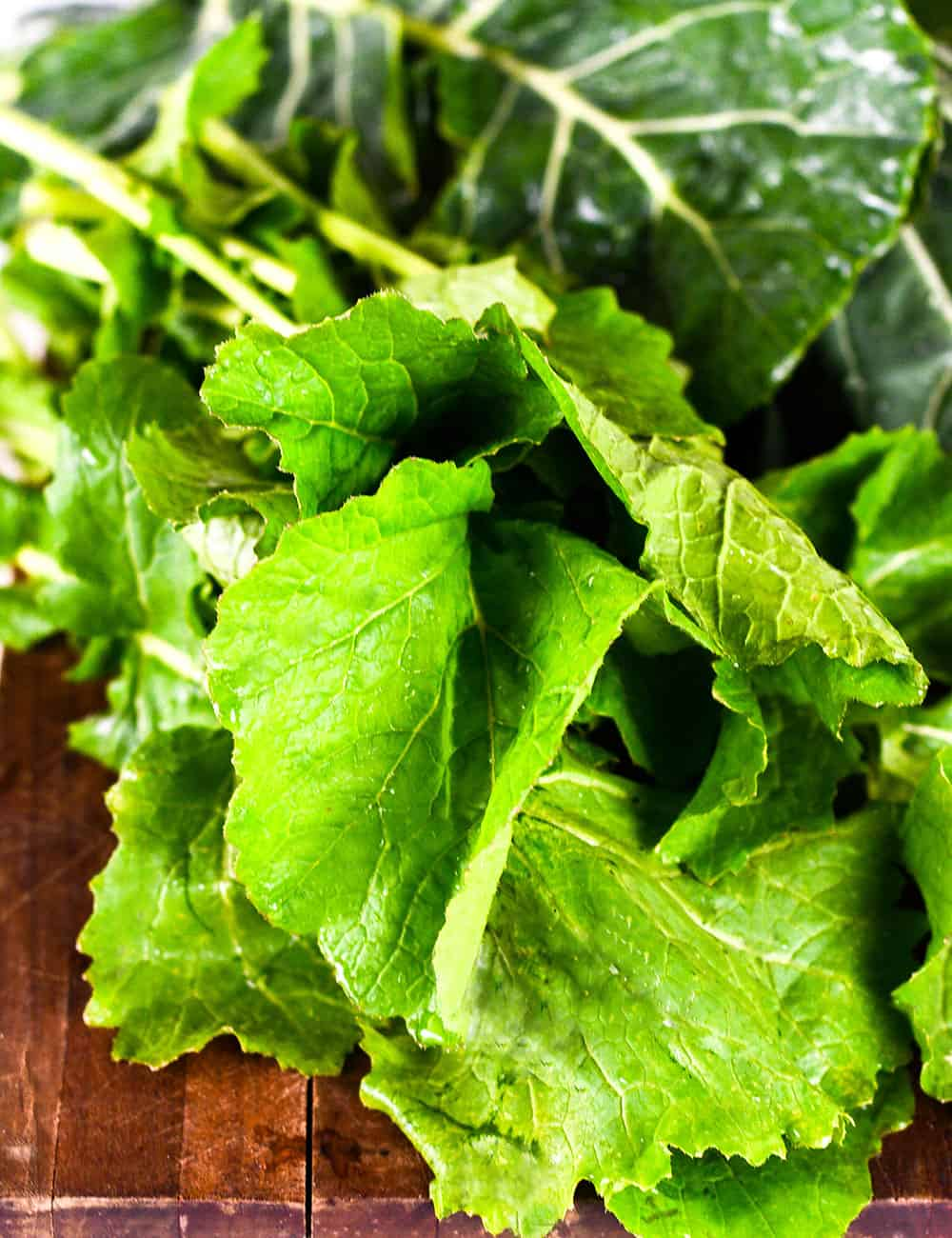 Southern-Style Mixed Greens