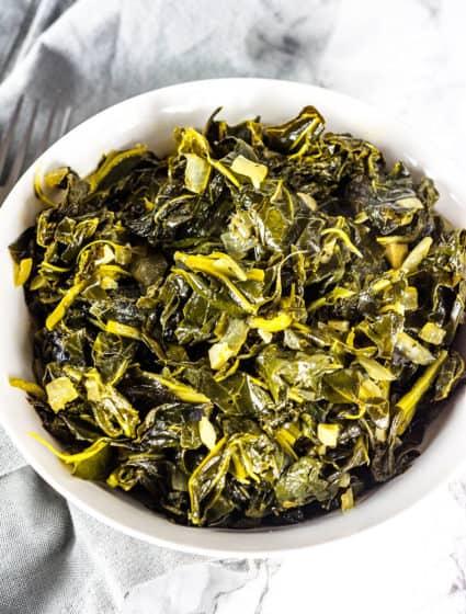 Vegan Southern-Style Mixed Greens