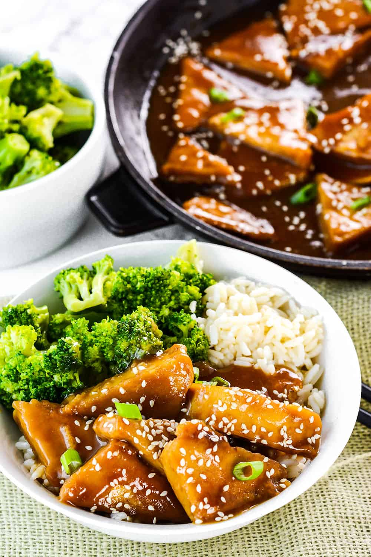 Teriyaki Tofu (Vegan, Gluten-Free)