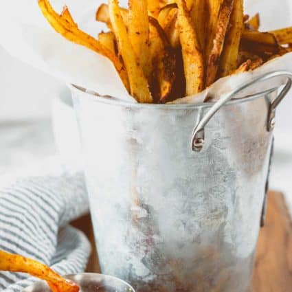 Oven Baked Barbecue Fries