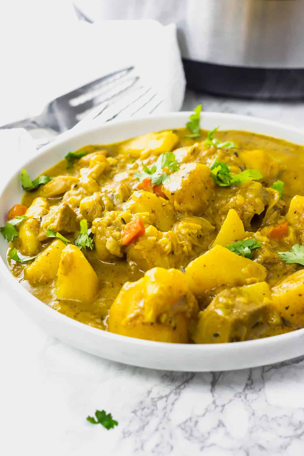 Instant Pot Vegan Jackfruit with Potato Curry