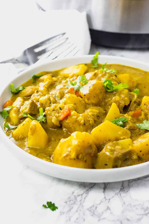 Instant Pot Vegan Jackfruit with Potato Curry