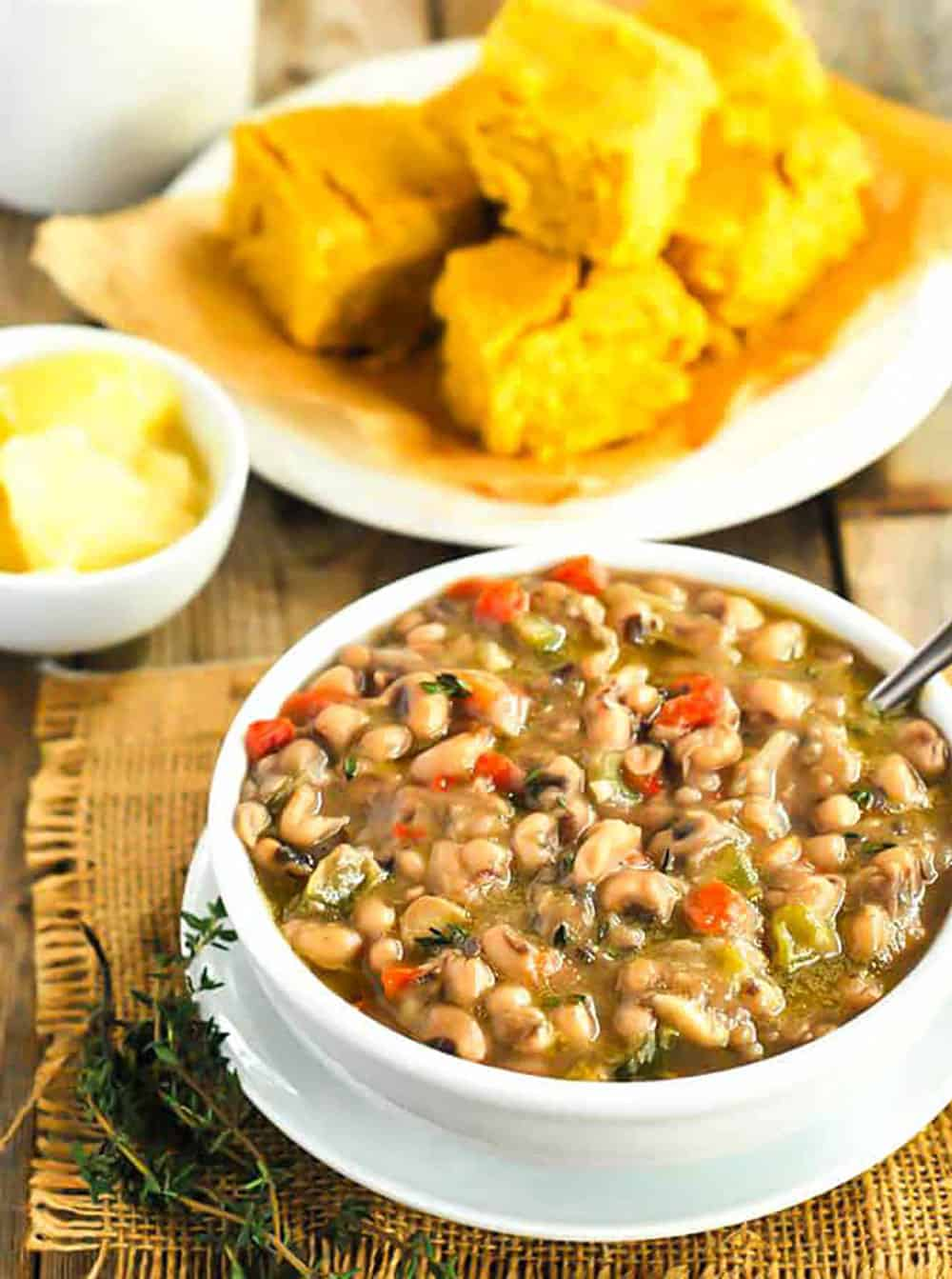 Southern Blackeyed Peas Recipe